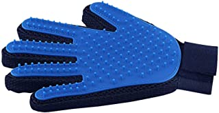Mumoo Bear Pet Hair Remover Glove - Gentle Pet Grooming Glove Brush - Efficient Deshedding Glove - Massage Mitt with Enhan...