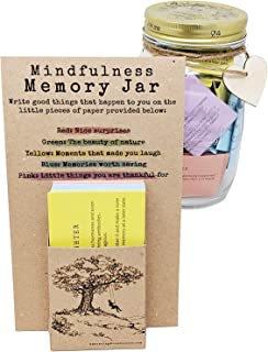 Mindfulness Memory Jar - Share, Cherish and Re-Live Memories Throughout The Year