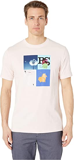 Leaf Graphic Print T-Shirt