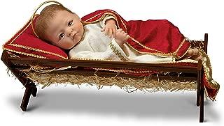 The Ashton-Drake Galleries Linda Murray Jesus, The Savior is Born Porcelain Baby Doll