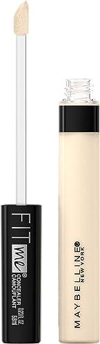 Maybelline New York Fit Me Liquid Concealer Makeup, Natural Coverage, Oil-free, Ivory, 0.23 Fl Oz (Pack of 1)