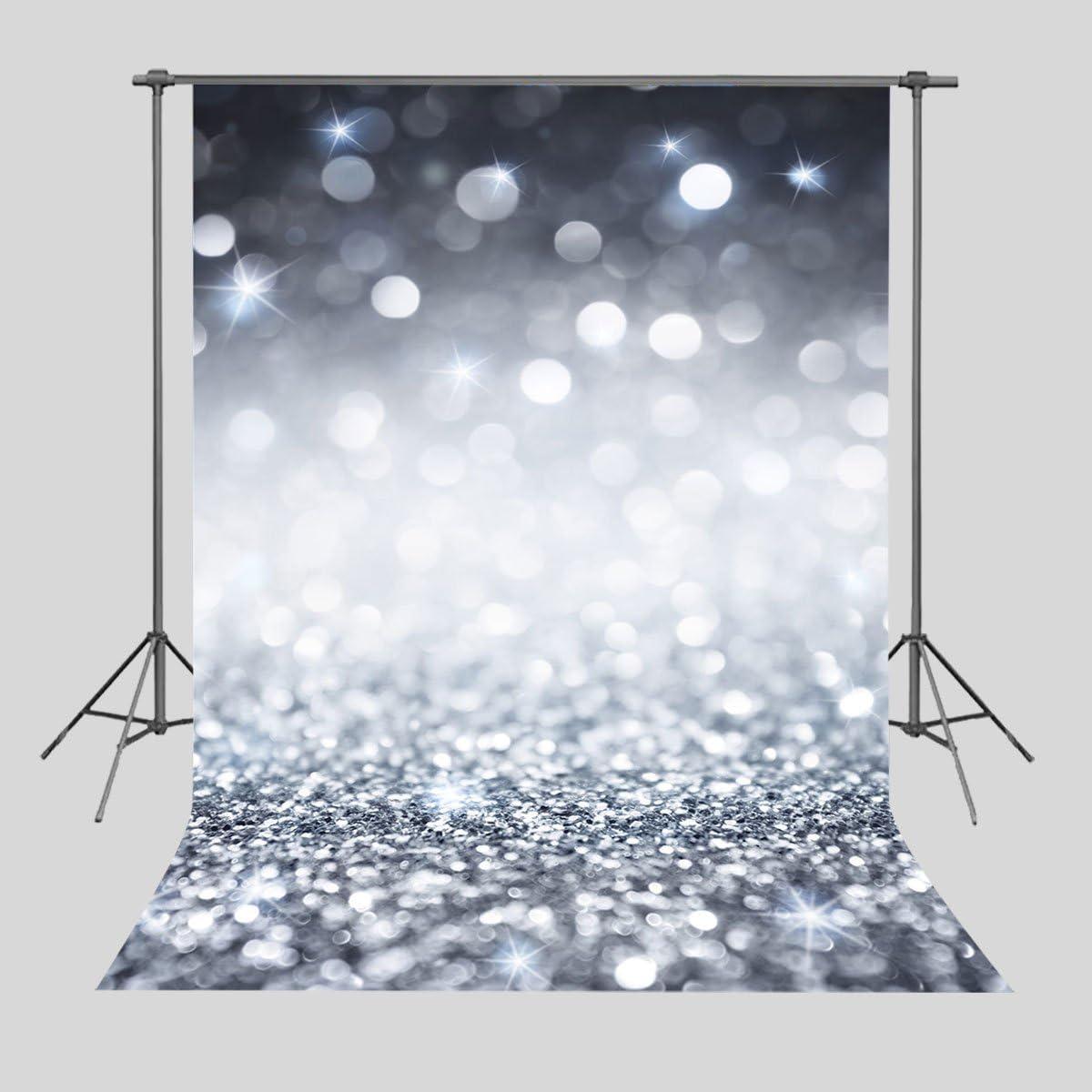 Daniu Glare Glitter Hintergrund Für Fotografie Silber Kamera
