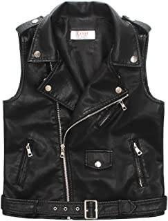 Best boys leather biker jacket Reviews