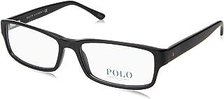 Polo Men's PH2065 Rectangle Eyeglasses 3 Sizes