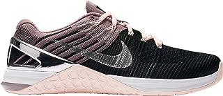 Women's Metcon DSX Flyknit Bionic Training Shoes (Black/Pink, 11.0 - Medium)