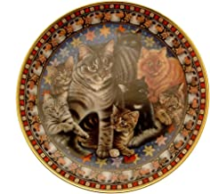 Danbury Mint Lesley Anne Ivory's Cats Plate Muppet as The Magical Mr Mistoffelees Plate GB153