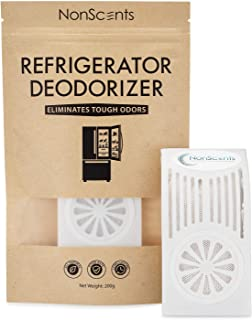 Refrigerator Deodorizer - Fridge and Freezer Odor Eliminator - Outperforms Baking Soda