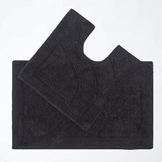 50 x 80 cm 13 Colori Disponibili Homescapes Cotone Tappetino scendi-Vasca in Spugna Azzurro in 100/% Cotone 50 cm x 70 cm