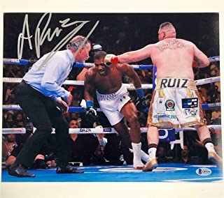 anthony joshua autograph