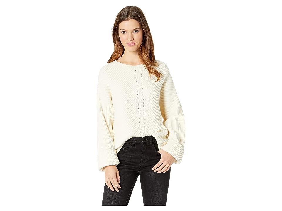 30c9bae068 Splendid Sedona Wool Blend Sweater (Natural) Women s Sweater