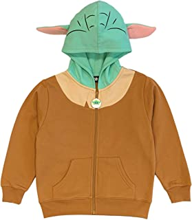 Star Wars The Mandalorian Boys' Baby Yoda Costume Hoodie
