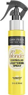 John Frieda Sheer Blonde Go Blonder Lightening Spray, 3.5 Ounce Controlled Hair Lightener with Citrus and ChamomileBlondM...