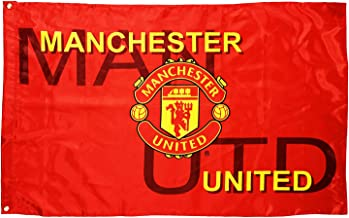 GLUUGES 3×5FT FC Football Club Flag Scooer Team Banner for Manchester United Fan