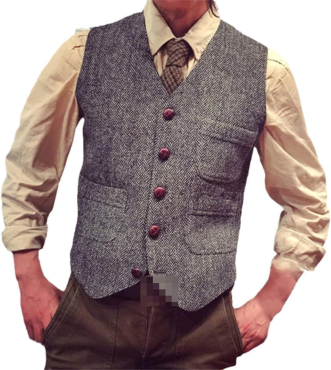 Men's vest suit business vest jacket green Victorian style clothing wedding men