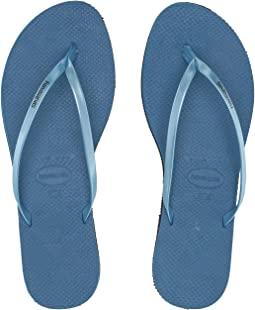 83a9b61e03df Havaianas. You Metallic Flip Flops.  40.00. 4Rated 4 stars. Steel Blue