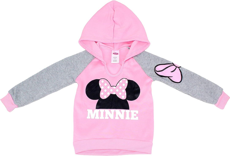 Disney Little Girls Minnie Mouse Hoodie Sweatshirt : Clothing, Shoes & Jewelry