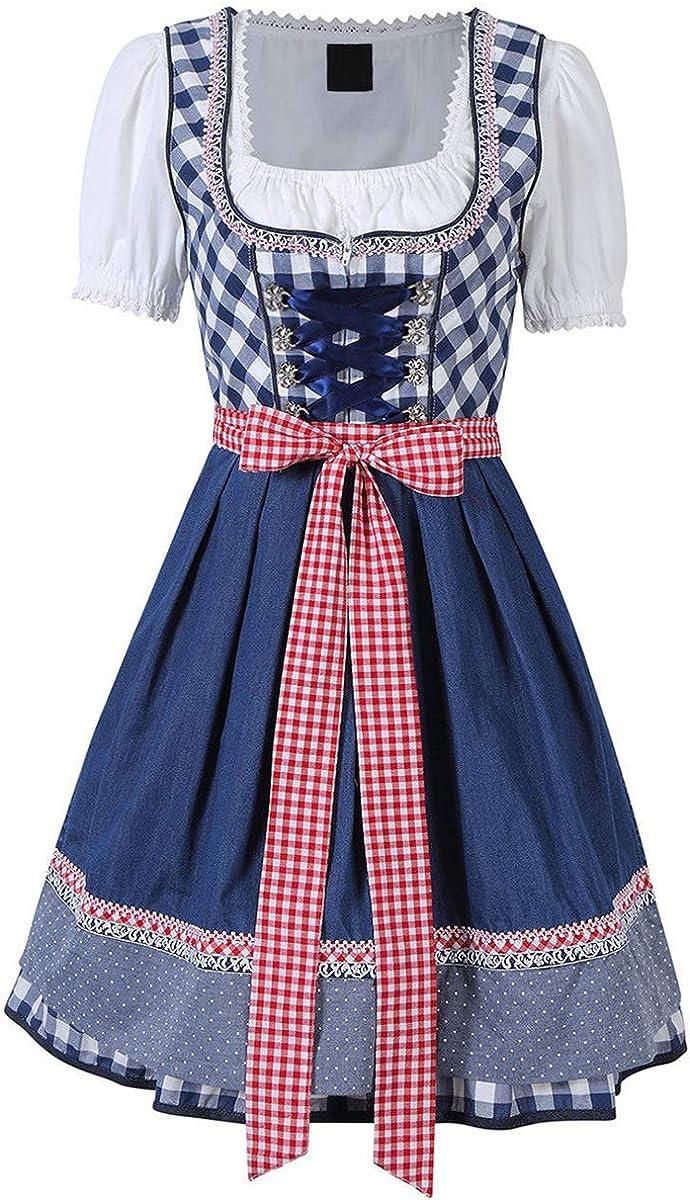 Evaliana Max 84% OFF Oktoberfest Waitress Max 71% OFF Party Dress Bavarian German W Beer