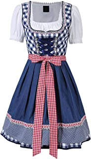 Bofo Oktoberfest Waitress Party Dress German Bavarian Beer Wench Carnival Halloween Costume Maid Outfit