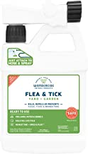 Wondercide Natural Ready to Use Yard Flea, Tick and Mosquito Spray – Mosquito and Insect Killer, Treatment, and Repellent – Safe for Pets, Plants, Kids