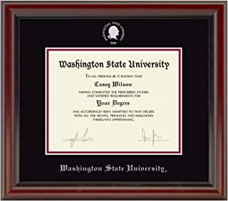 washington state university diploma frame