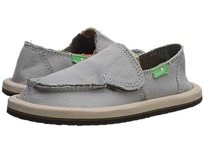 Sanuk Kids Vagabond (Toddler/Little Kid) (Grey Blanket) Boys Shoes