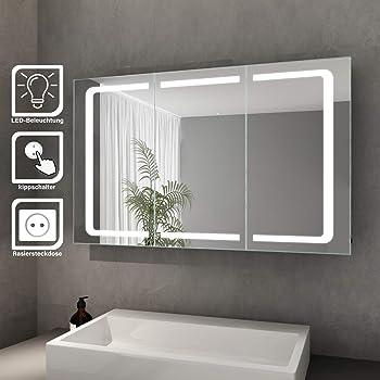 Schrank Badezimmerspiegel Licht Badezimmerspiegelschrank