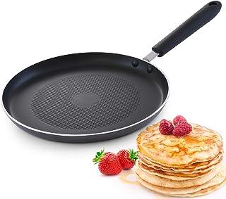 Royalford 26 cm Stainless Steel Pan Cake Maker, Black
