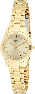 Casio Women's Dress Watch Metal Fashion Water Resistant Stainless steel band