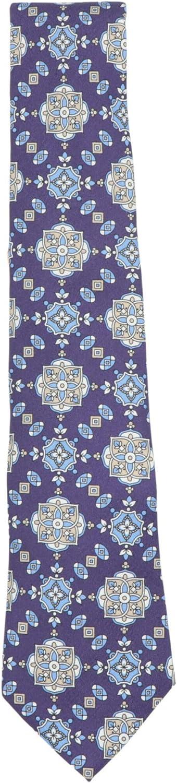 Canali Men's Floral Mosaic Necktie Tie Set