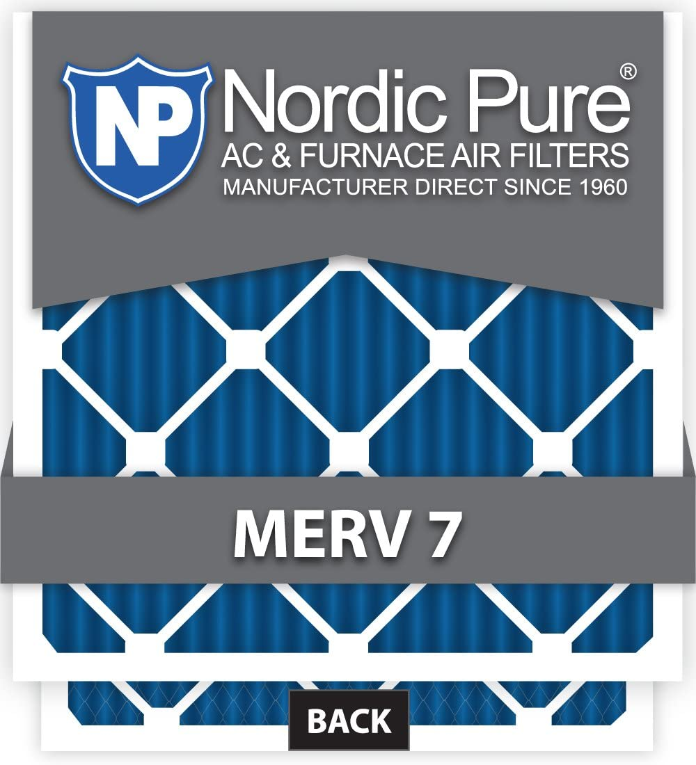 Nordic Pure 16x36x1ExactCustomM7-6 MERV Some reservation 7 Furnace 16 Japan Maker New AC Filters