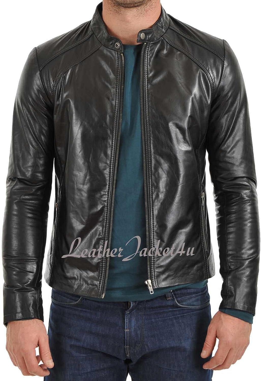 LeatherJacket4u Mens Leather Jacket 60