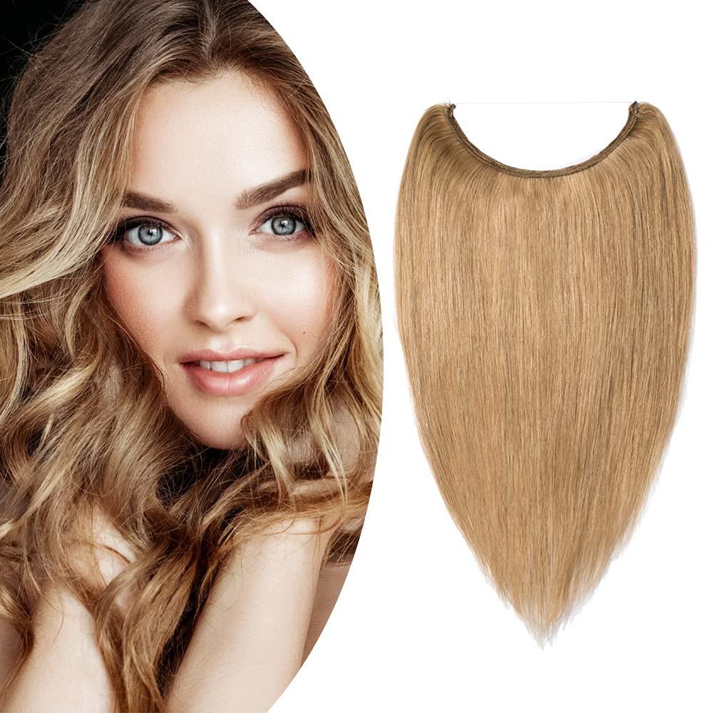 S-noilite Invisible Hidden Crown Challenge the lowest price Human Hair Extensions Free shipping on posting reviews