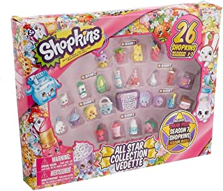 Shopkins Season 1-7 Best Of All Star Collection Playset Toys Kids Lot Pack