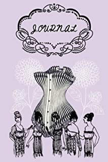 Lined Corset Bridgerton Victorian Lavender England UK France Journal Notebook Notes: Bridgerton Merch Merchandise Present,...