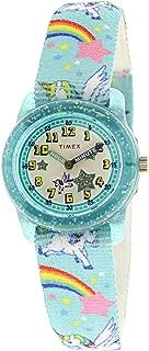 Girl's Time Machine TW7C25600 Blue Nylon Japanese Quartz...