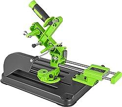 Vogvigo Soporte de amoladora angular, cortadora de mesa Sierra de tracción de barra de ángulo de la máquina de pulir para 100、115 y 125 Amoladora de ángulo
