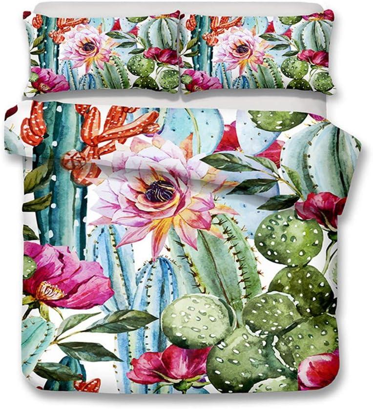 Cactus Succulent Plant sale Duvet Bedding Cover and Portland Mall Set