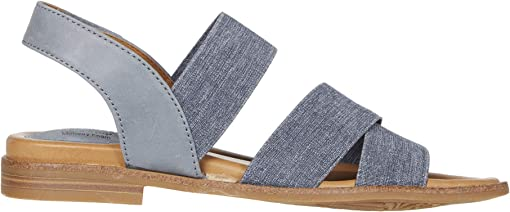 Chambray/Denim La Mesa/Elastic