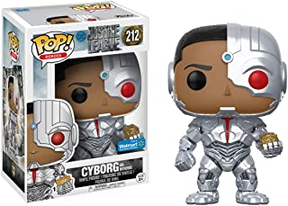 Funko Pop Justice League Movie - Cyborg and Motherbox Walmart Exclusive