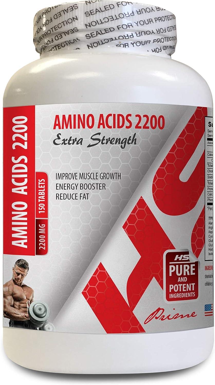 Muscle Growth Max 77% OFF Capsule - arginine ACIDS 2200 Sale Special Price Amino glutamine