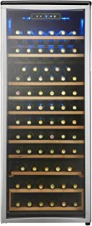 Danby DWC106A1BPDD Designer 75 Bottle Freestanding Wine Cooler