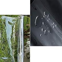 S SMAUTOP Heavy Duty Waterdicht,PVC transparante dekzeil Poly Clear Vinyl Tarp Cover,0,35mm Clear luifel Patio Behuizing,3...