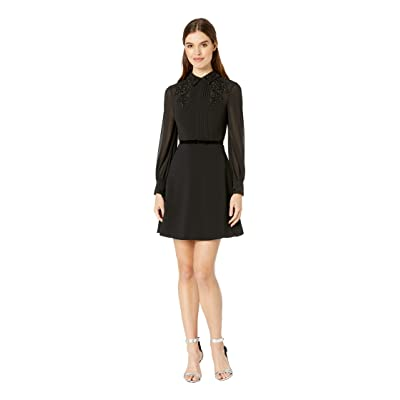 Ted Baker Amaali Lace Applique Tunic Dress (Black) Women