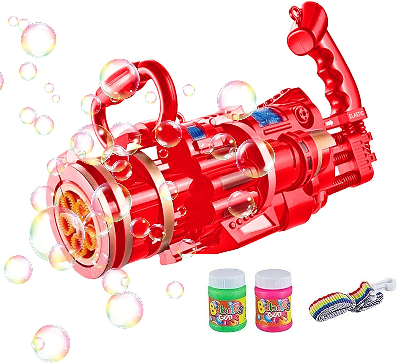 LUBINGT Bubble Machine Bubble Machine Gun Blow Electric Bubble M