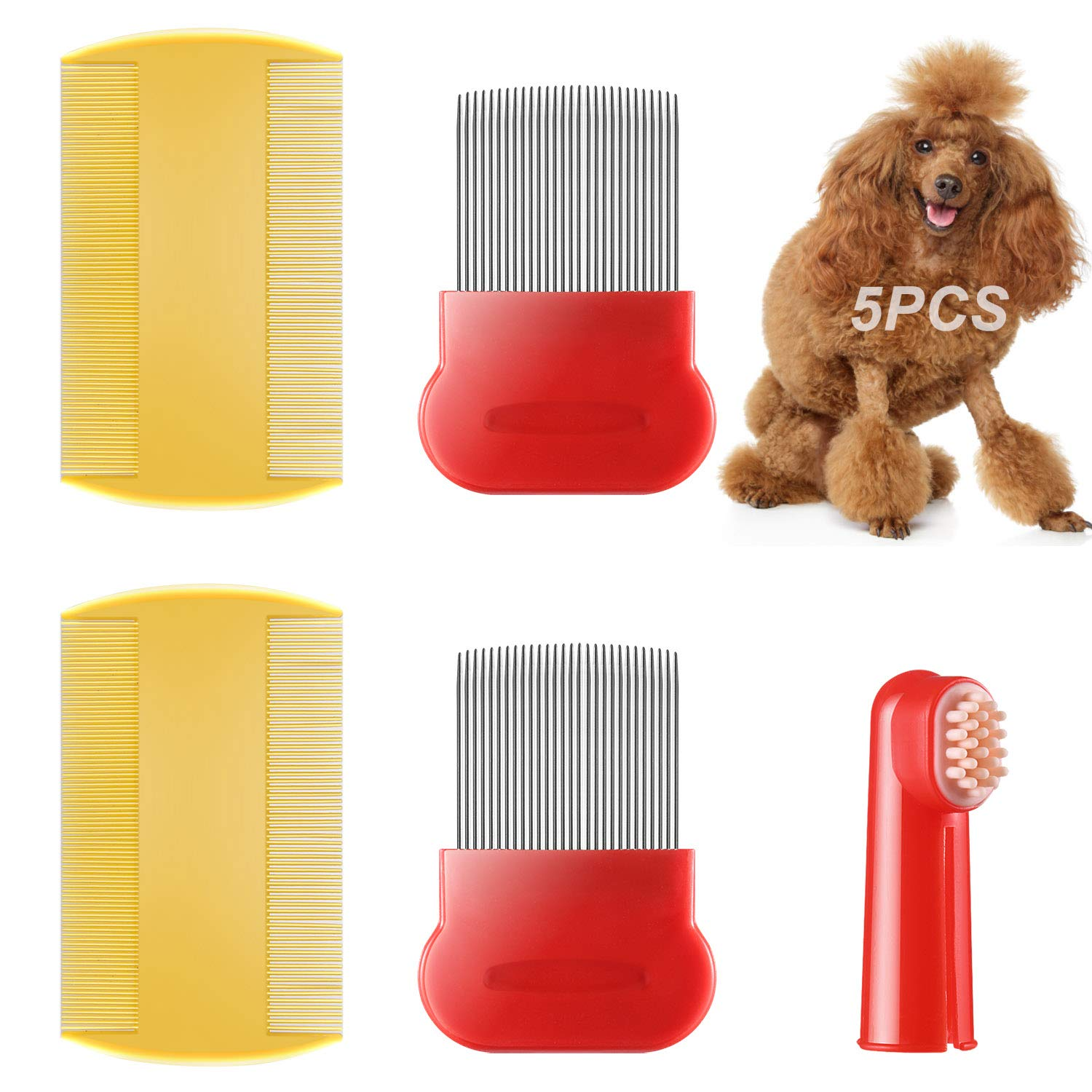 It is very popular 5 Our shop OFFers the best service pack dog Comb Grooming