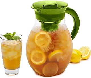 Primula The Big Iced Tea Maker Infusion، Brewer، ظرفیت بزرگ ، پارچ نوشیدنی ، 1 گالن ، سبز