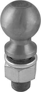 CURT 40085 Raw Steel Trailer Hitch Ball, 30,000 lbs., 2-5/16-Inch Diameter Tow Ball with 1-1/4-Inch x 2-5/8-Inch Shank