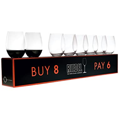 O  Cabernet/Merlot Red Wine Set (Box of 8)