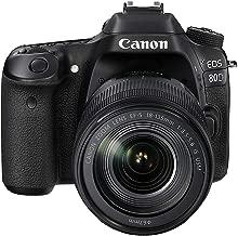 Canon EOS 80D 18-135mm IS USM Lens Kit - 24.2 MP, SLR Camera, Black
