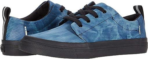 Majolica Blue Tie-Dye Ripstop